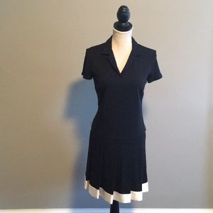 ABS Pleated Dress